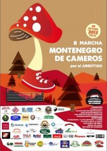 Marcha en Montenegro de Cameros